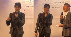 Noo Phước Thịnh tự tin bắn tiếng Anh như gió trước truyền thông tại Asian Pop Music Festival 2018