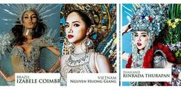 yan.vn - tin sao, ngôi sao - Sau giải tài năng, Hương Giang Idol bỏ xa chủ nhà Thái dẫn đầu bình chọn trang phục dân tộc