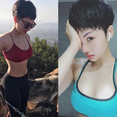 Không hề thua chị kém em, Miu Lê cũng sở hữu vòng 1