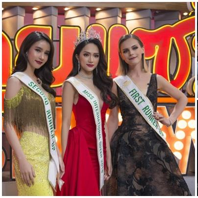 Bị hỏi về tin đồn mua giải trên truyền hình Thái, Hoa hậu Chuyển giới Hương Giang nói gì?