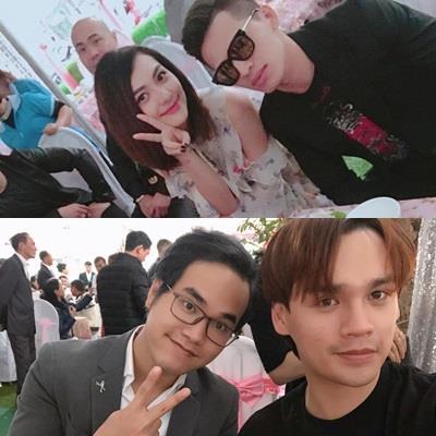 Dàn sao Việt nô nức về quê dự đám cưới của Khắc Việt và vợ DJ xinh đẹp