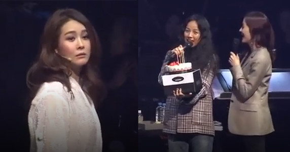 Lee Hyori đập tan tin đồn bất hòa khi bất ngờ xuất hiện trong concert của chị em cũ nhóm Fin.K.L
