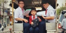 Tấm ảnh 'thần thái' nhất ngày hôm nay, thấy rõ nỗi khổ của học sinh khi đang vào mùa thi
