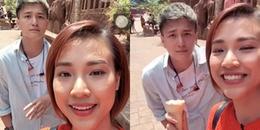Hoàng Oanh - Huỳnh Anh vui vẻ tái ngộ sau gần 1 năm chia tay
