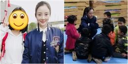 yan.vn - tin sao, ngôi sao - Lý Tiểu Lộ âm thầm đi làm tình nguyện sau scandal ngoại tình