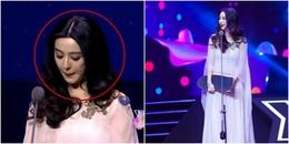 yan.vn - tin sao, ngôi sao - Đẹp lộng lẫy tham dự sự kiện, Phạm Băng Băng khó chịu vì câu hỏi của người dẫn chương trình
