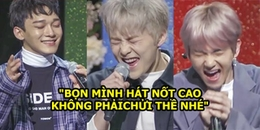 Cười đau bụng với cảnh tượng EXO-CBX khoe giọng đẳng cấp thi hát nốt cao nốt thấp tại buổi showcase