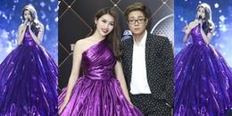 Chế Nguyễn Quỳnh Châu tiết lộ bí mật khó tin về bộ váy tím song ca cùng Bùi Anh Tuấn