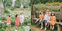 Khoảnh khắc hội ngộ siêu đáng yêu của 4 anh chị em họ Bắc - Trung - Nam