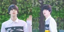 yan.vn - tin sao, ngôi sao - Khoảnh khắc thần thánh của Jin (BTS) ở sân bay khiến các fan