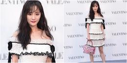 Sau scandal 'quỵt tiền', Dương Mịch xuất hiện với kiểu tóc mới