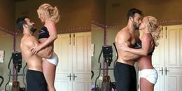 Britney Spears khiến fan sốt rần rần với đoạn clip vừa nhảy sexy vừa khóa môi bạn trai kém 13 tuổi