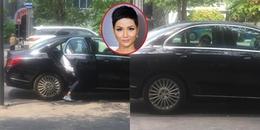 yan.vn - tin sao, ngôi sao - Hoa hậu H\'Hen Niê xuất hiện chớp nhoáng trên phố với xế hộp tiền tỷ