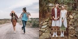 Những kiểu chụp ảnh 'tình như cái bình' dành cho các cặp đôi đam mê du lịch