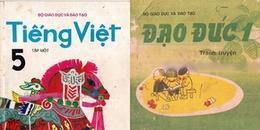 Ngược về một trời kí ức tuổi thơ với sách giáo khoa tiểu học trước cải cách
