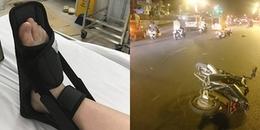 Hà Nội: Nữ sinh gặp tai nạn giao thông do bị bạn lừa trong ngày Cá tháng Tư