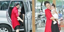 'Gái quê' Lê Thị Phương lần đầu xuất hiện cùng con gái gần 6 tháng tuổi