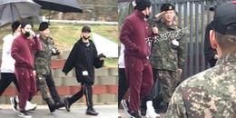 Sau 5 tuần nhập ngũ, G-Dragon xuất hiện 'tươi như bông', mập mạp trắng trẻo làm fan ấm lòng