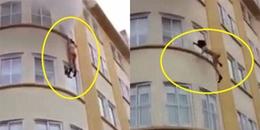 Phát hiện hỏa hoạn lúc đang tắm, người phụ nữ bất chấp chưa mặc đồ nhảy xuống từ tầng 3 thoát thân