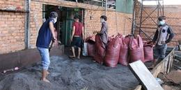 Cận cảnh xưởng sản xuất cà phê bột từ vỏ cà phê trộn pin con ó gây xôn xao ở tỉnh Đắk Nông