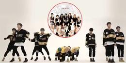 Fan Kpop thích thú trước nhóm nhạc tân binh trình diễn vũ đạo hit của SNSD nhanh đến khủng khiếp