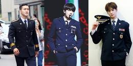 Những nam idol có khả năng 'giết người' bằng hình ảnh quân nhân 'soái ca'