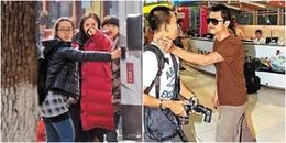 Thái độ của dàn sao Hoa ngữ đình đám khi chạm trán paparazzi