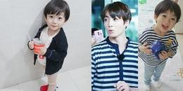 'Lụi tim' trước vẻ đáng yêu của cậu bé Hàn Quốc được mệnh danh là 'bản sao nhí' của Jungkook (BTS)
