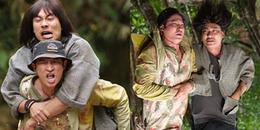 """Huy Khánh """"kể khổ"""" chuyện cõng Kiều Minh Tuấn trong phim 17 tỷ của Lý Hải"""