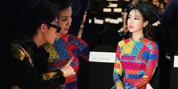 yan.vn - tin sao, ngôi sao - Sơn Tùng M-TP nhắng nhít chụp hình cùng Đỗ Mỹ Linh ở hàng ghế đầu show Công Trí