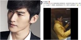 Netizen thích thú với phản ứng của Trương Hàn khi lên... nhầm xe