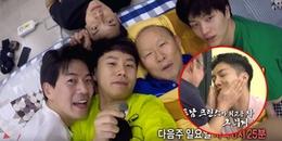 Fan thích thú trước cảnh tượng HLV Park Hang Seo dẫn Lee Seung Gi thăm nhà, đi ăn và...selfie đi ngủ