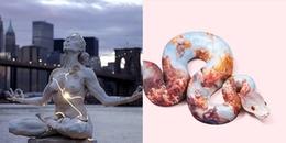 Những tác phẩm nghệ thuật hiện đại độc nhất vô nhị: Cái đẹp mê hồn, cái ám ảnh rợn người