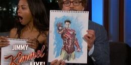 Dàn cast Avengers: Infinity War tự vẽ nhân vật của mình, khán giả cười ngát khi nhìn thấy Iron Man
