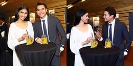 Trương Thị May thân thiết với mỹ nam 'Sống chung với mẹ chồng' trong sự kiện