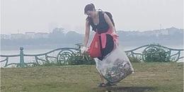 Người Việt nghĩ gì khi thấy hình ảnh cô gái Tây nhặt rác tại Phủ Tây Hồ?
