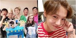 yan.vn - tin sao, ngôi sao - Lộc Hàm đón sinh nhật lần thứ 28, Quan Hiểu Đồng chúc mừng thế nào?