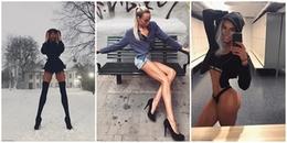 Cô nàng với đôi chân dài 1,1m cùng câu chuyện truyền cảm hứng cho không ít các bạn trẻ