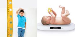 Muốn biết con có phát triển hay không mẹ chỉ cần dựa vào bảng chiều cao và cân nặng chuẩn này sẽ rõ