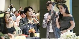 Ngô Kiến Huy và Ốc Thanh Vân làm MC chương trình có Kim Samuel