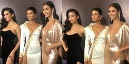 Top 3 Hoa hậu Việt Nam rạng rỡ tái hợp mừng Mâu Thủy ra dự án mới
