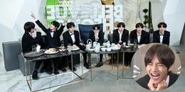 Fan quỳ với độ 'lầy' của V, anh chàng muốn BTS quay show trong phòng truyện tranh để vừa đọc vừa ăn