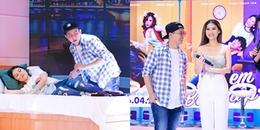 yan.vn - tin sao, ngôi sao - Hoài Lâm tự tin diễn cảnh đưa bạn gái đi khách sạn trước hàng ngàn khán giả