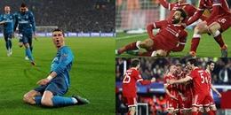 ĐIỂM NHẤN lượt đi Tứ kết Champions League 2017/18: Hai vì tinh tú mang tên Ronaldo và Salah