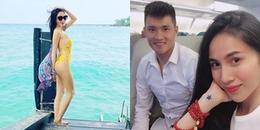 yan.vn - tin sao, ngôi sao - Thủy Tiên diện bikini vàng rực, khoe thân hình nóng bỏng trước biển