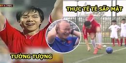 Ngộ Không Lee Seung Gi được HLV Park Hang Seo dẫn đi đá bóng và có màn 'quê độ' đi vào lịch sử