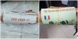 Nuốt không nổi bánh mỳ chỉ vì những mảnh giấy gói 'siêu bựa' của cô bán hàng