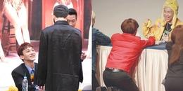 Đáng yêu hết nấc khi idol giả dạng fanboy đi xin chữ kí thành viên cùng nhóm