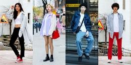 Street style giới trẻ Hàn: Sơ mi baggy kết hợp over tee, bộ đôi 'phủ sóng' mùa hè