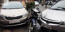 Hà Nội: Xe 'điên' gây tai nạn liên hoàn khiến bé gái 8 tuổi tử vong, 6 người bị thương
